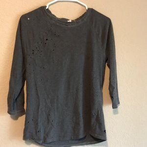 Tops - Distressed shirts. 2 for one price.